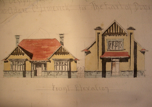 Adare Village Hall 02 - Sketch