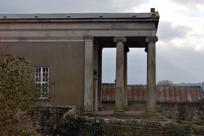 Bagenalstown Courthouse 03 - Portico