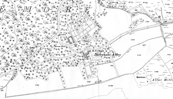 Derrynane House 05 - Ordnance Survey Extract