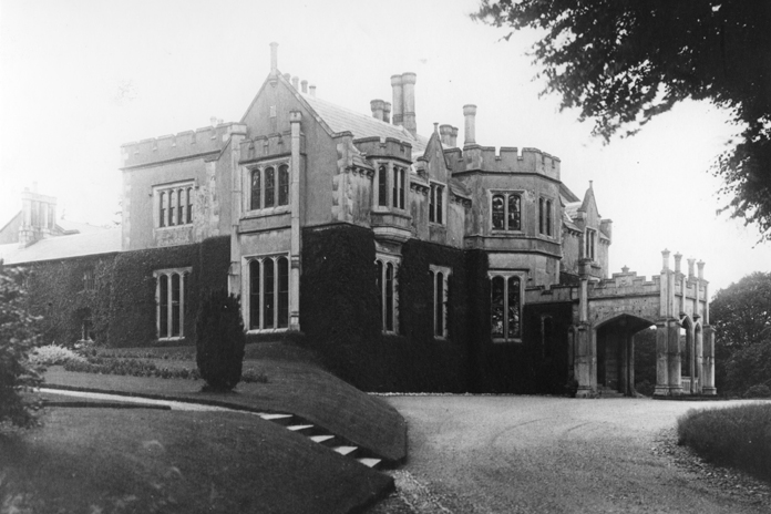 Glendalough House, Annamoe, County Wicklow 02 – Tudor Revival Front