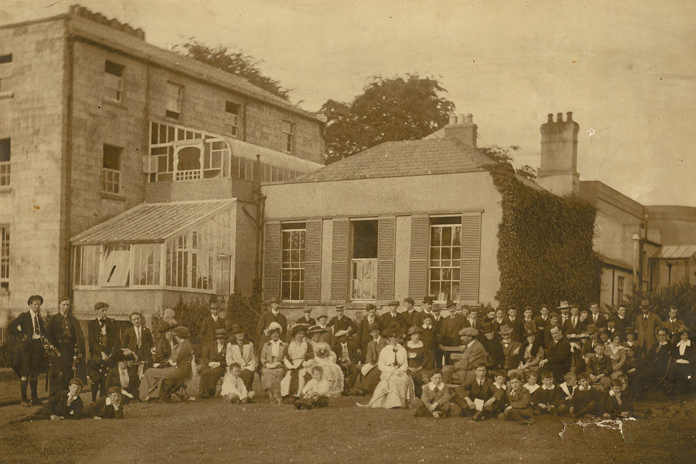 Pearse Museum Rathfarnham 04 - Prize Giving Day with Douglas Hyde