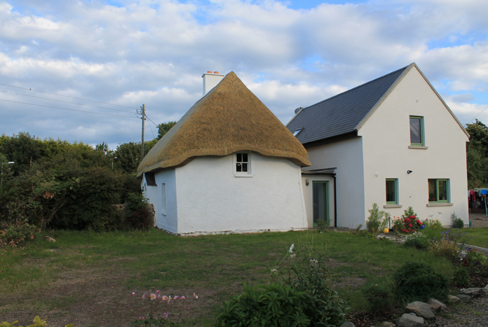 Thatched House, Ballygarran, Wexford 14 - House and Extension