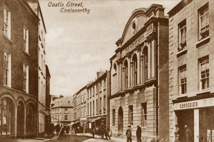 The Athenaeum, Enniscorthy 03 - Postcard