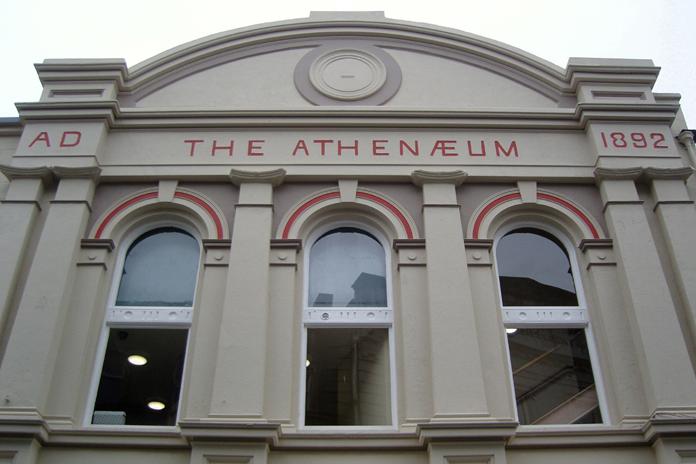 The Athenaeum, Enniscorthy 04 - Temple Front