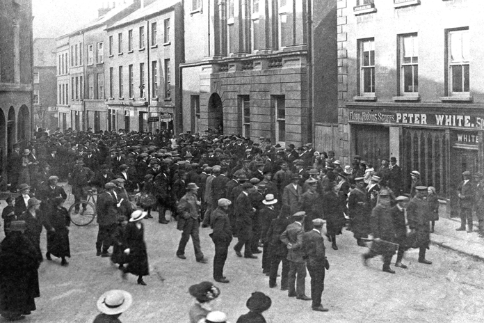 The Athenaeum, Enniscorthy 05 - Enniscorthy Leaders Arrest (1916)