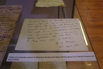 The Athenaeum, Enniscorthy 09 - Order of Surrender