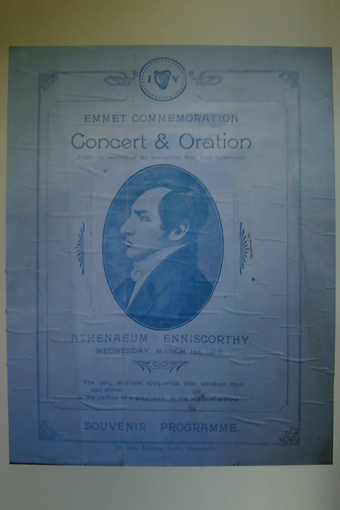 The Athenaeum, Enniscorthy 14 – Emmet Commemoration Concert and Oration Souvenir