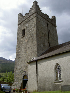 Tower from south-west