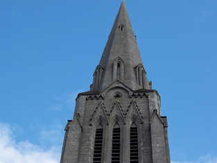 Detail of spire.