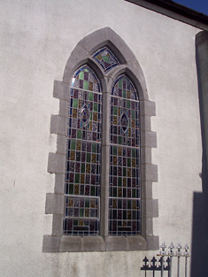 Detail of Y-tracery window.