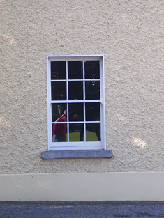 Detail of ground floor window.