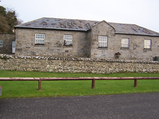 Front elevation (southwest).