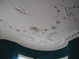 Detail of ceiling.
