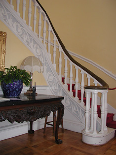 Detail of staircase.
