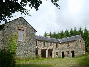 Representative view of stable block.