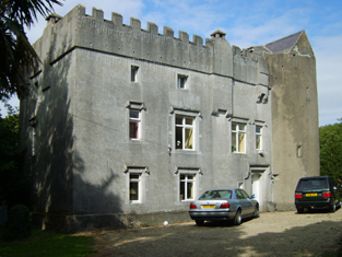 Representative view of fortified house.