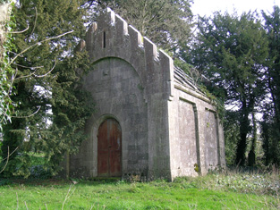 View of mausoleum from south-west.