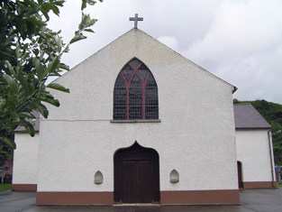 Front (west) gable.