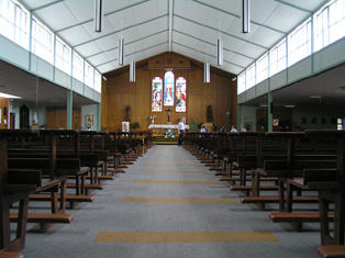 View Towards Altar