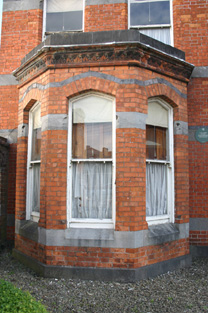 Three-sided Canted Bay Window