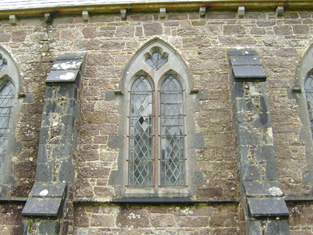 Windows to front elevation.