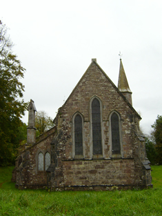 Rear (north) elevation.