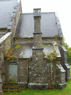 Vestry, east elevation.