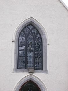 Window to front elevation.