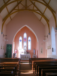 View towards altar.