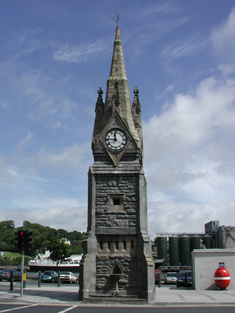 Representative view of clock tower.