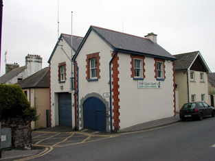 Represenative view of coastguard station.