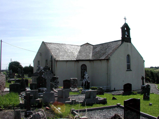 View of church (south-west and nort-west elevations).