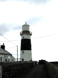 Representative view of lighthouse.