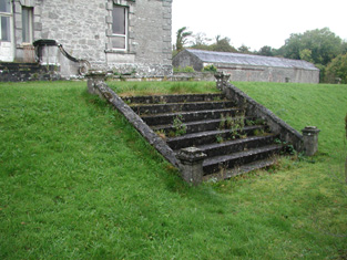 Stone Steps, South Elevation