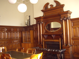 Council chamber & fire surround