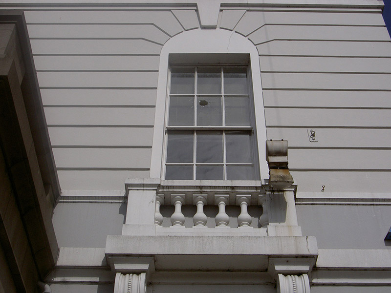 Window, first floor