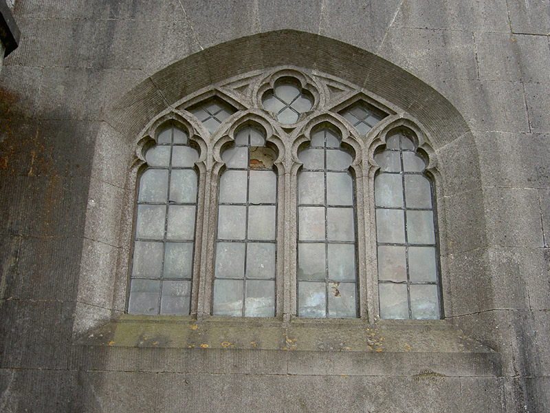 East porch window