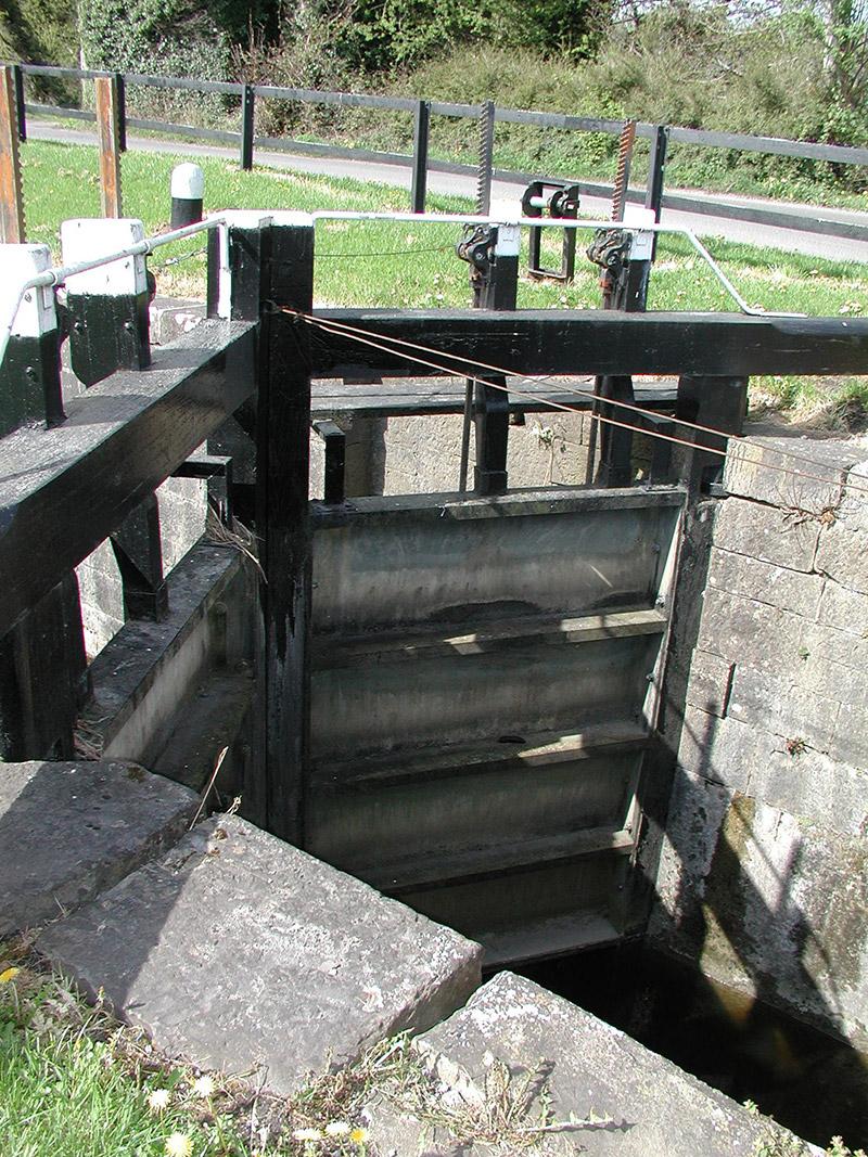 Eastern lock gate