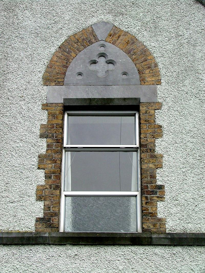 Detail of ground floor window