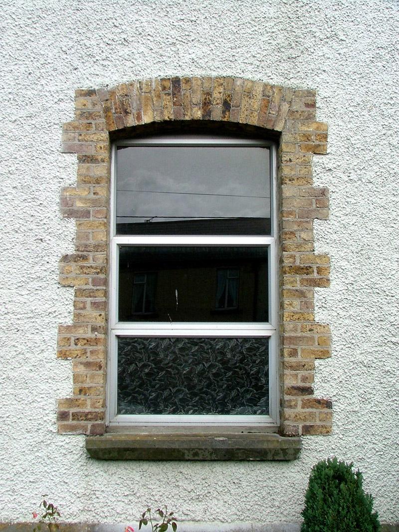 Detail of first floor window