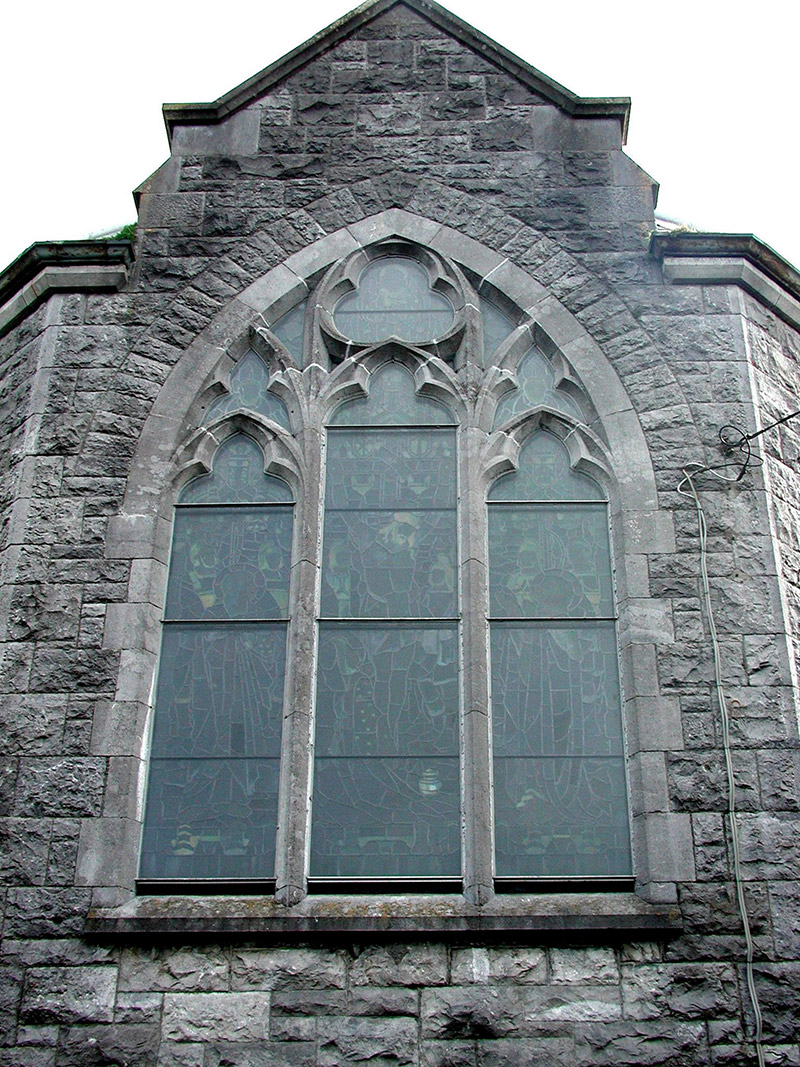 Detail of chancel window