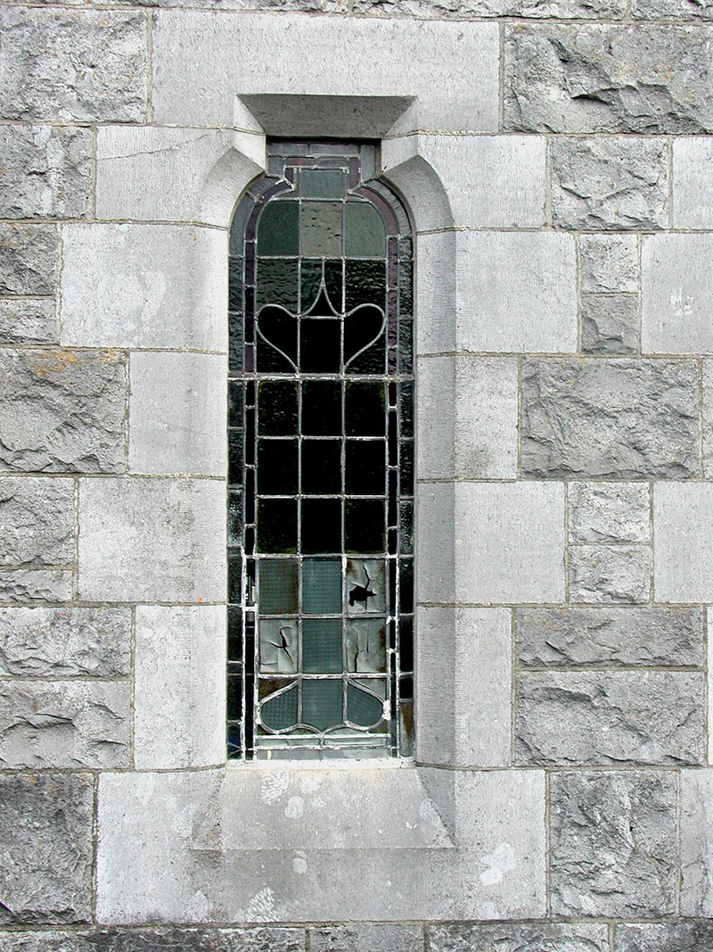 Detail of sacristy window