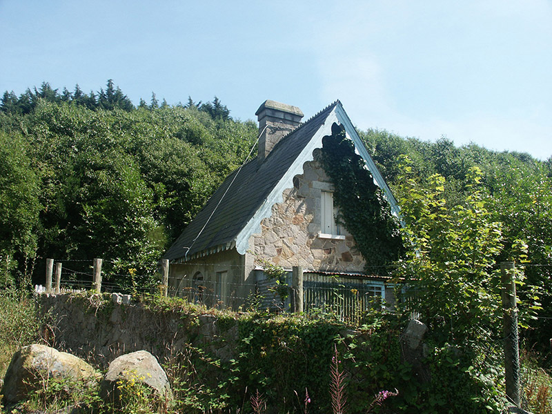 View of gate lodge