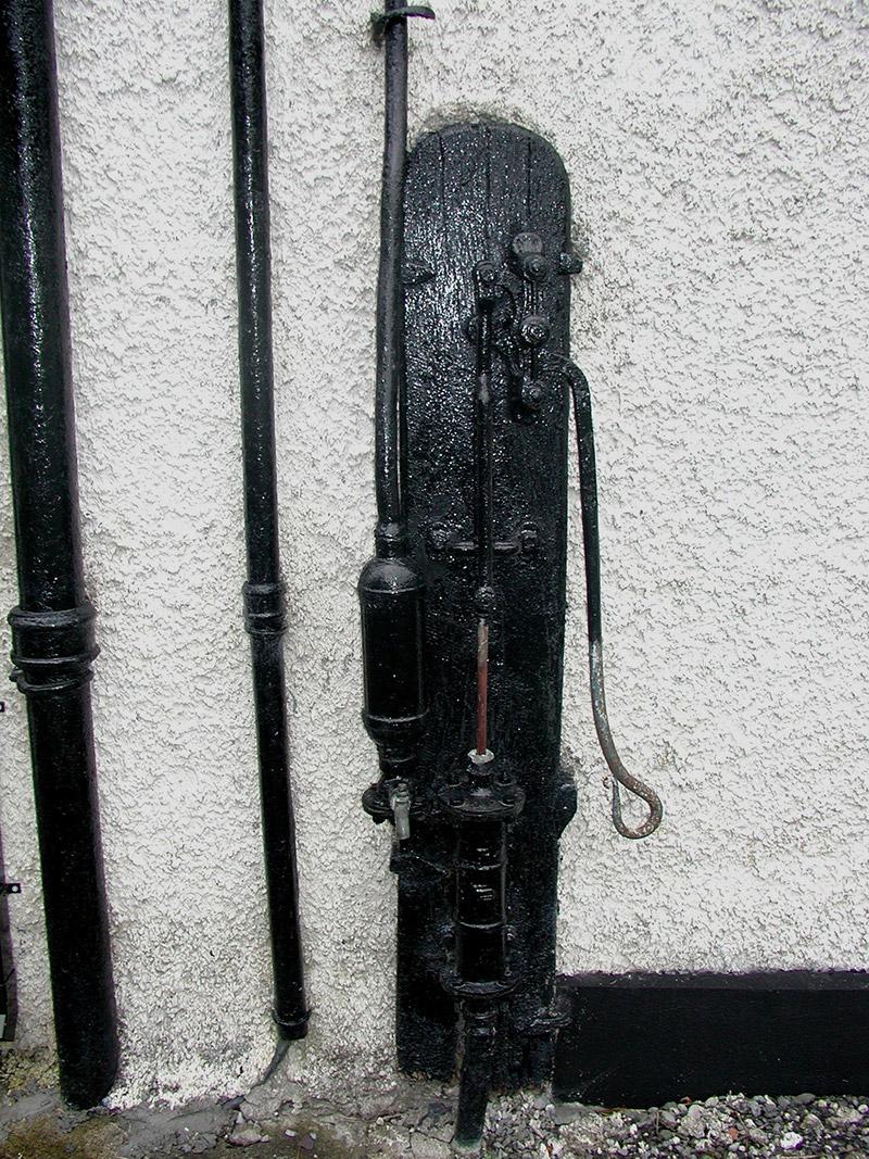 Detail of water pump