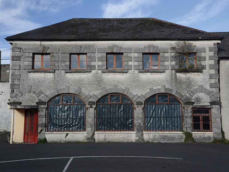 Representative view of façade of coach house-cum-stable outbuilding.  Photography by James Fraher