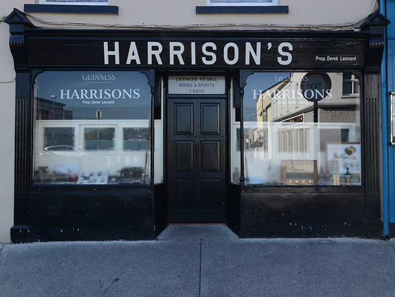 View of shopfront.  Photography by James Fraher