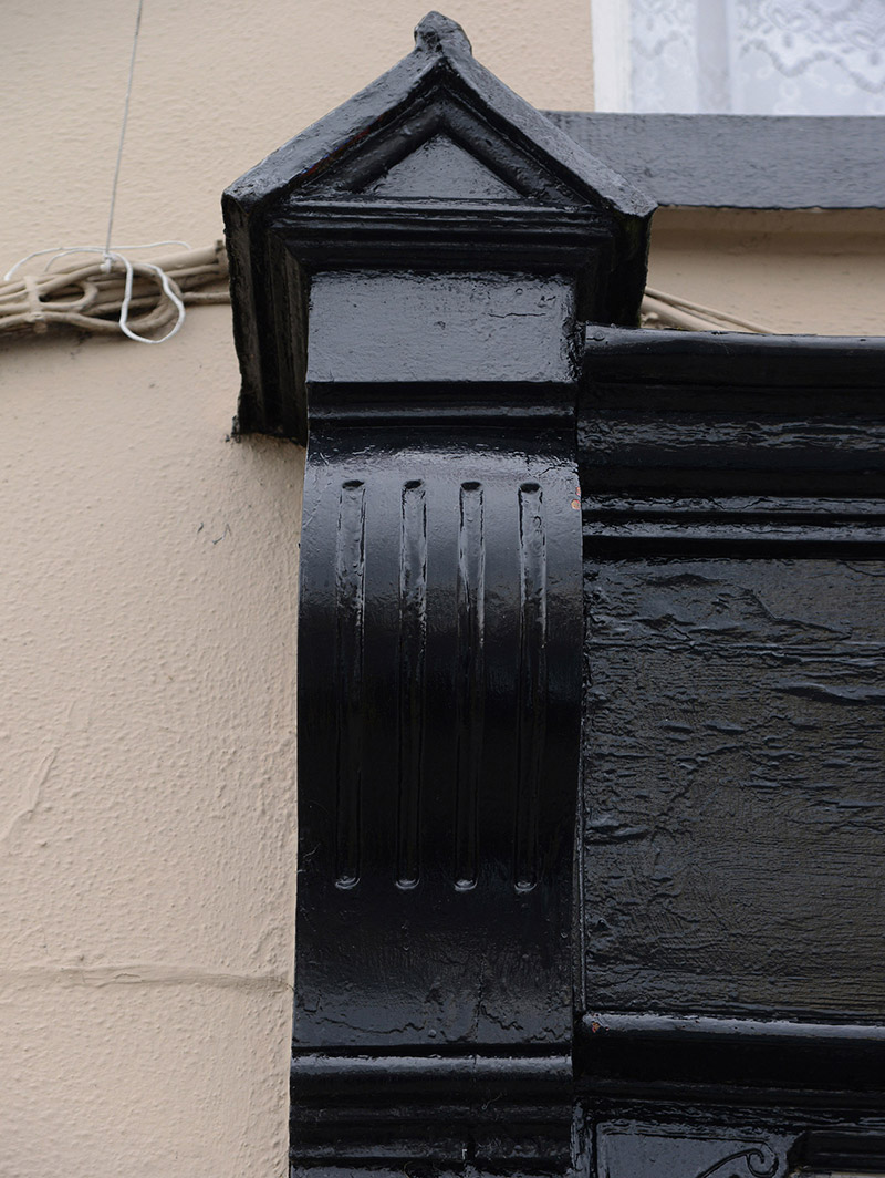 Detail of shopfront.  Photography by James Fraher