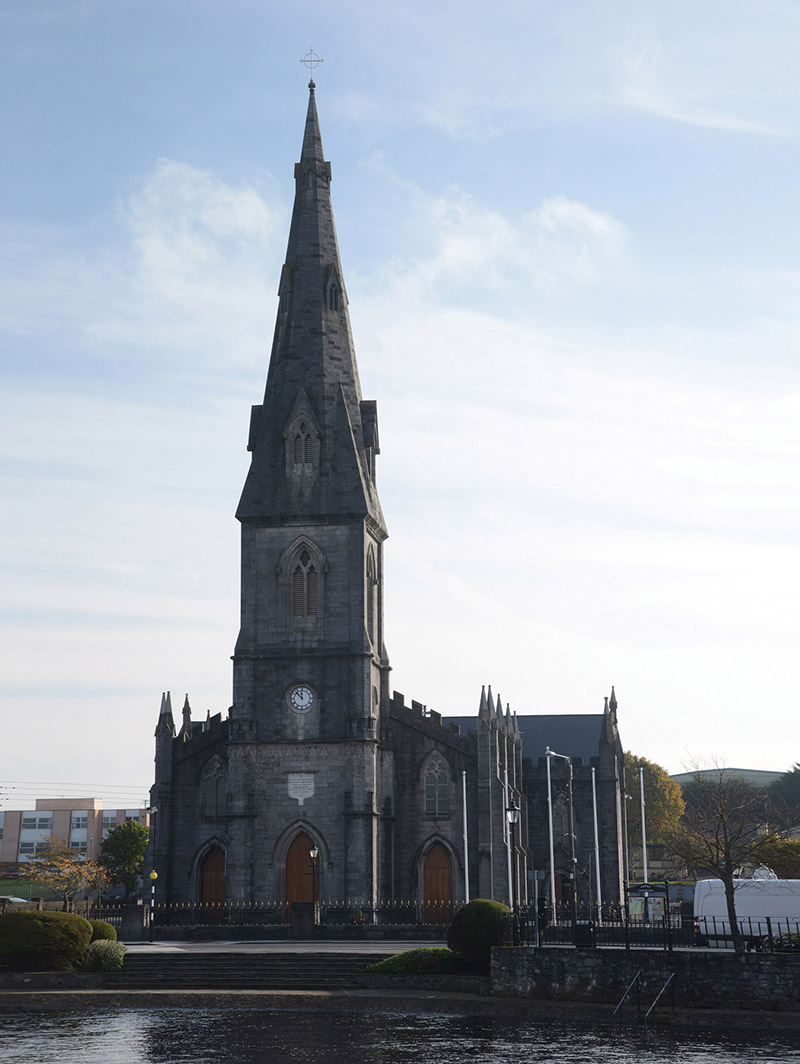 Representative view of cathedral.  Photography by James Fraher