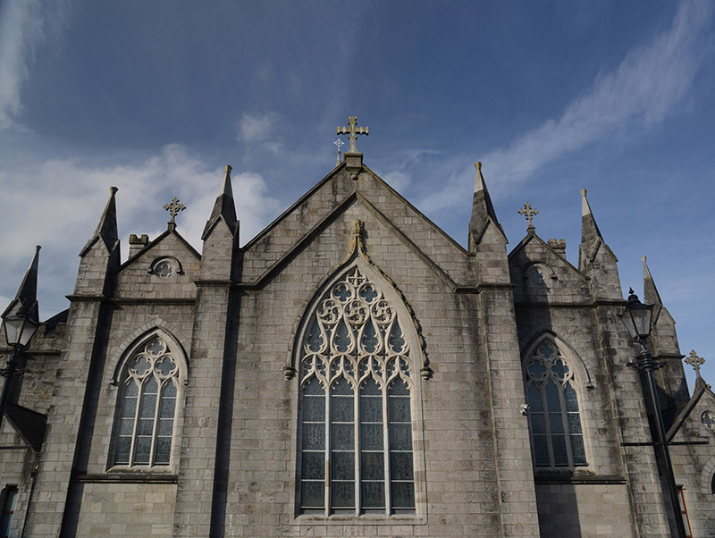 View of cathedral (east elevation).  Photography by James Fraher