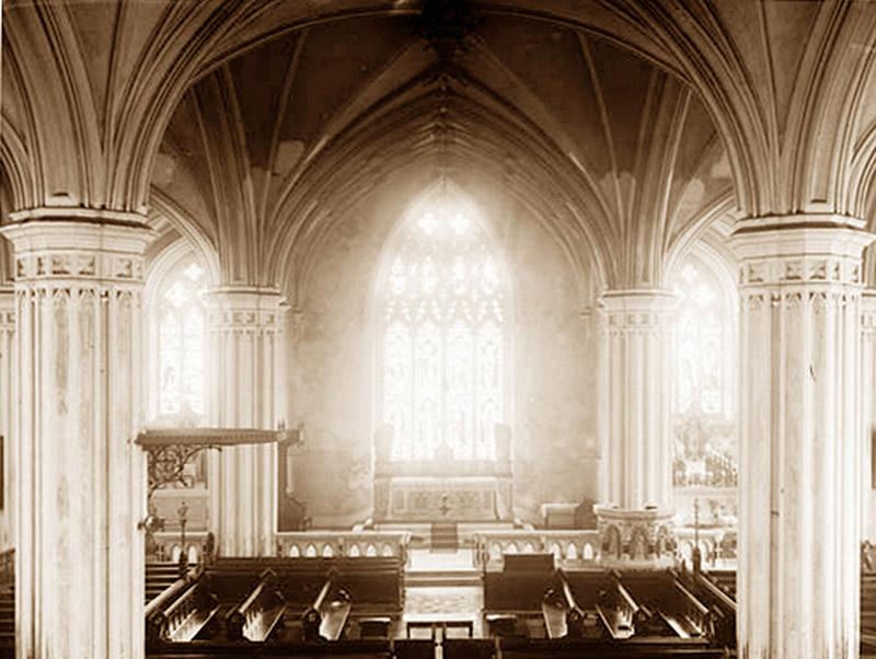 Archival photograph of interior (undated).